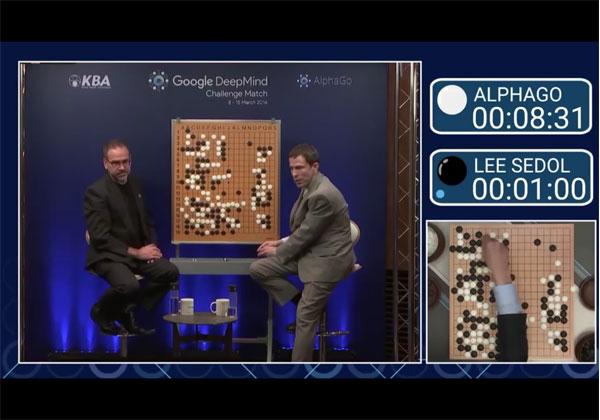 המחשב ניצח את האדם במשחק הלוח העתיק ביותר בעולם. צילום: מתוך הסרטון