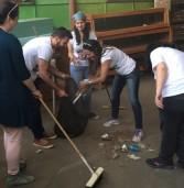 יום המעשים הטובים: עובדי ServiceWise התנדבו בפנימיית עלומים