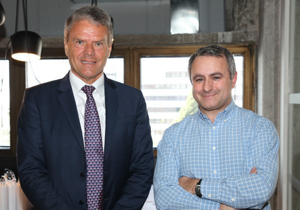 """לן רוזן, מנכ""""ל ברקליס ישראל וטרואלס אורטינג, מנהל אבטחת המידע של ברקליס  העולמי. צילום: לירז פאנק"""