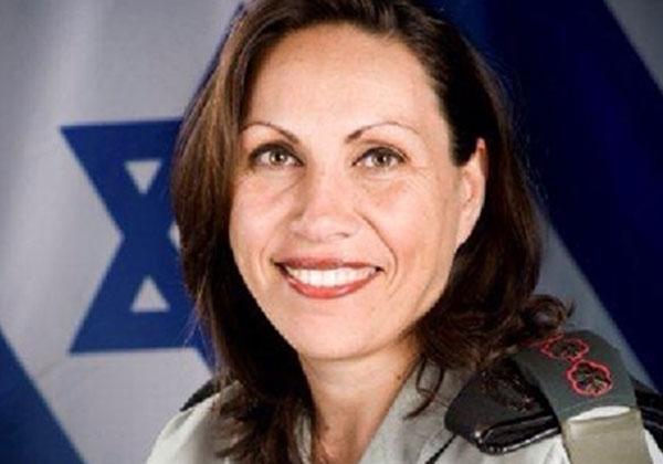 """הצנזורית הצבאית הראשית, אל""""מ אריאלה בן אברהם. צילום: דובר צה""""ל"""