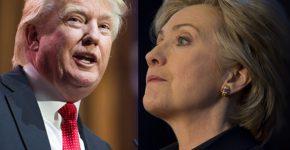 הכי מעניינים ב-2016. הילרי קלינטון ודונלד טראמפ