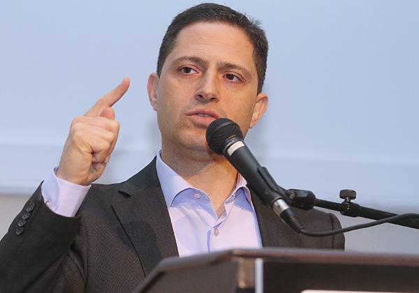 רוביק דנילוביץ', ראש עיריית באר שבע. צילום: ניב קנטור
