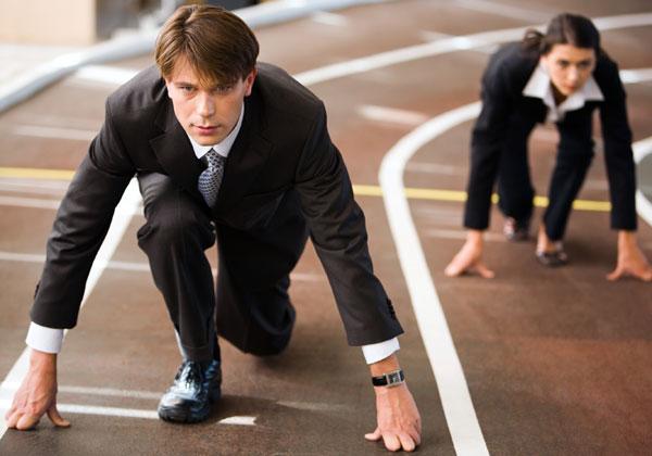 המירוץ לפסגת הטכנולוגיה. צילום: BigStock