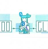גוגל מציינת בדודל מיוחד 100 שנה להולדתו של מייסד תורת המידע