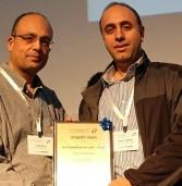 פרס לרשות מקרקעי ישראל מטעם הלשכה לטכנולוגיות המידע