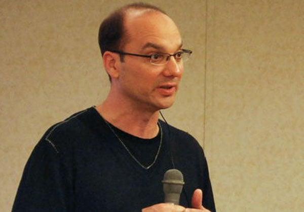 אנדי רובין, ממציא האנדרואיד - ו-Essential. צילום: יויצ'ירו אקיאמה, מתוך ויקיפדיה