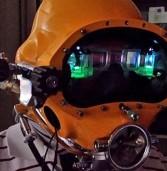 פיתוח חדש יאפשר לצוללנים לקבל מידע ויזואלי לקסדה
