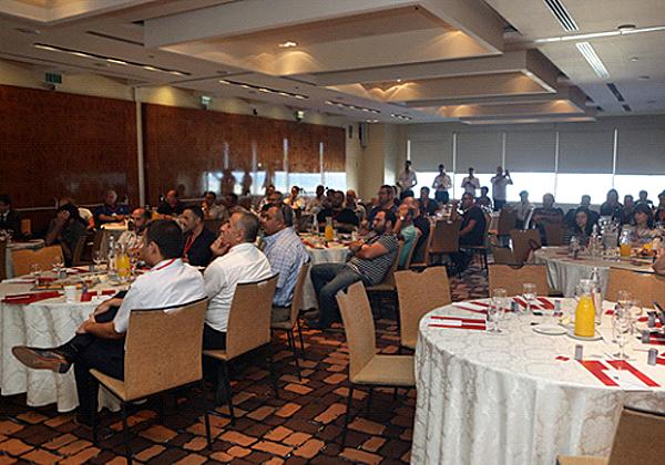 המשתתפים באירוע האזינו ברוב קשב להרצאות