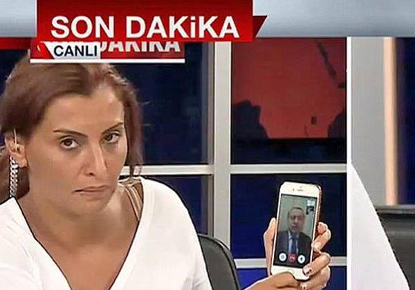 ארדואן בשיחת ה-FaceTime המפורסמת ביותר בעולם. צילום מסך