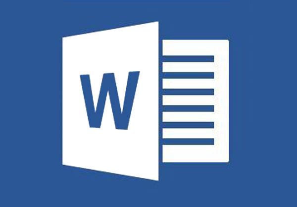 עוצמתי. Microsoft Word
