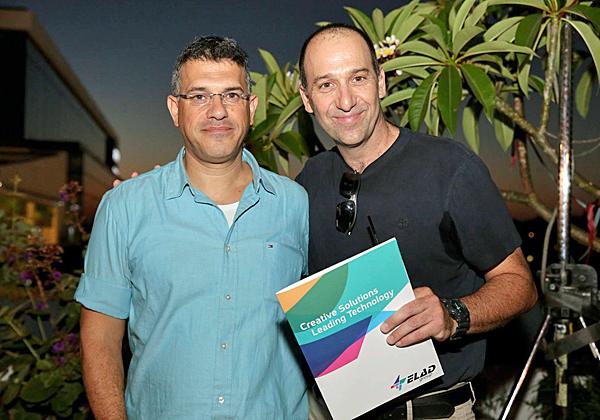 """מימין: רון לינדר, מנכ""""ל קבוצת אלעד; ודרור אדמון, סמנכ""""ל מערכות מידע באסותא"""