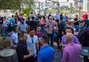 מפגש LGBTech בתל אביב בחודש הגאווה האחרון
