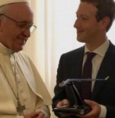 איזו מתנה העניק צוקרברג לאפיפיור?