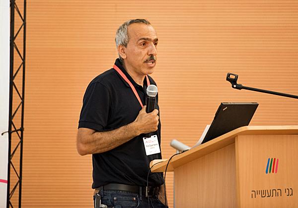 """פרופ' זיאד חנא, מנהל מרכז המו""""פ של קיידנס בחיפה ויו""""ר משותף למועצה הציבורית של צופן"""