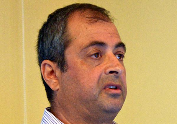 יהושע פורמן, מנהל אגף מערכות מידע ברכבת ישראל. צילום: ליאת מנדל
