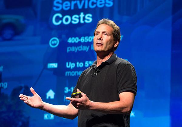 """דן שולמן, מנכ""""ל פייפאל. צילום: כריס קלוג, מתוך ויקיפדיה"""