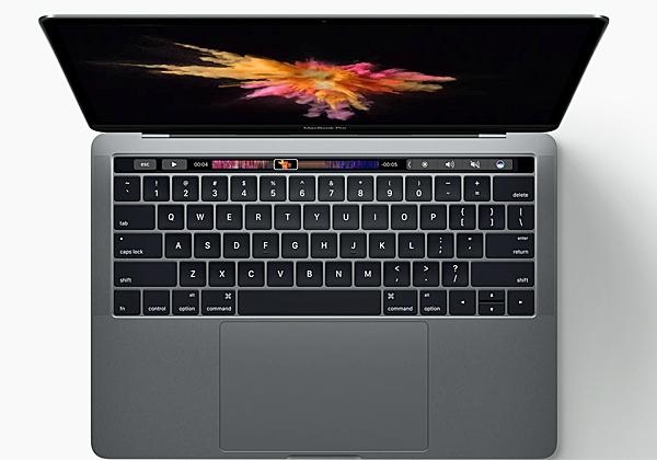 אחד ממחשבי ה-Macbook Pro החדשים של אפל. צילום: אתר החברה