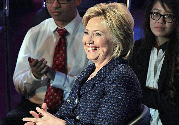 אז, לא הייתה לה סיבה לחייך. הילרי קלינטון. צילום: גייג סקידמור, מתוך ויקיפדיה