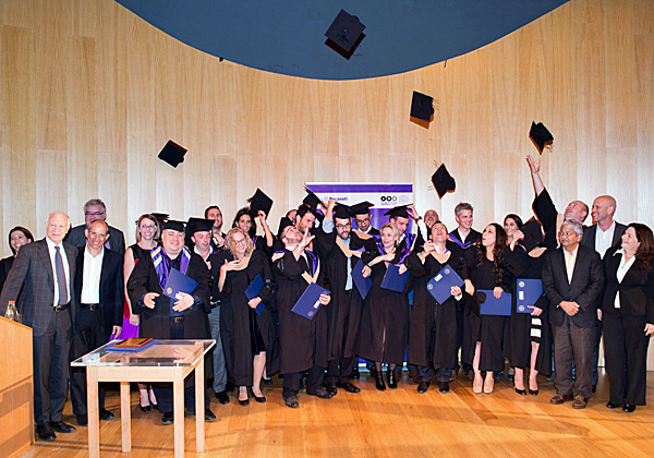 כובעים באוויר: בוגרי המחזור ה 19 של תוכנית קלוג רקנאטי לאחר קבלת תארי ה-MBA