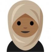 בקרוב: אימוג'י של אישה עם חיג'אב