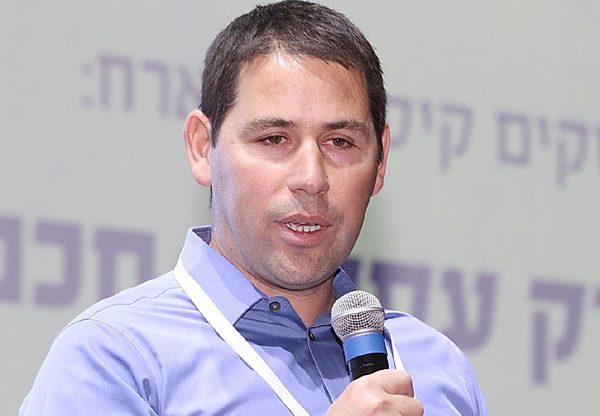 מיכאל כרסנטי, מנכ''ל החברה לפיתוח קיסריה. צילום: ניב קנטור