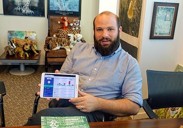 """איל פדר-לוי, מנכ""""ל זן סיטי. צילום: פלי הנמר"""
