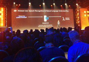 """אנדי ג'סי, מנכ""""ל AWS, בכנס AWS re:Invent של אמזון, בימים שהתקיים פיזית ולא רק אונליין. צילום: עופר פרוסנר"""