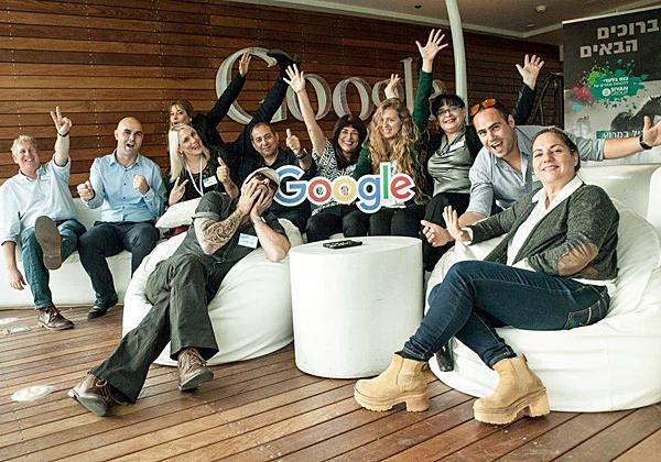 עובדים מקבוצת סיון במשרדי גוגל
