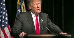 האינטרנט מפנה לו עורף. נשיא ארצות הברית, דונלד טראמפ. צילום: BigStock