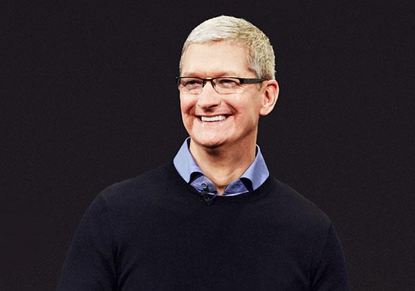 """טים קוק, מנכ""""ל אפל. צילום: BigStock"""