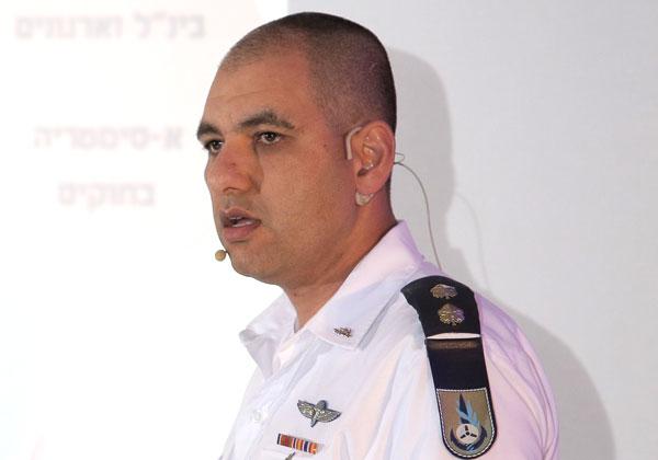 """סא""""ל שי פובדובסקי, ראש ענף שילוביות במחלקת תקשוב בחיל הים. צילום: יובל שיבר, יש אווירה"""