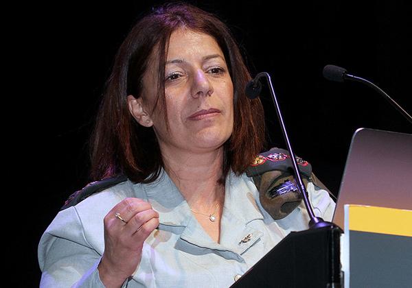 """אל""""מ (מיל') טליה גזית, לשעבר מפקדת ממר''ם. צילום: ניב קנטור"""