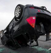 מכונית אוטונומית של אובר עברה תאונה שגרמה לה להתהפך לגמרי