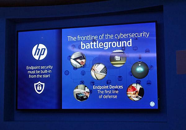 קו ההגנה הראשון על הנתונים הארגוניים נמצא ביחידות הקצה, שרבות מהן אלה המדפסות. כחברה בולטת בתחום, HP תספק גם את פתרונות האבטחה. צילום: פלי הנמר