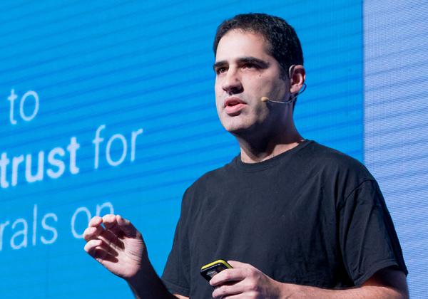 אייל מנור, סגן נשיא להנדסה ב-Google Cloud. צילום: תומר פולטין