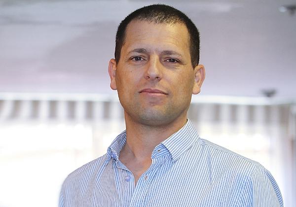 """אילן סגלמן, סמנכ""""ל מכירות ופיתוח עסקי ב-Power Communication ומנהל פעילות Sophos בישראל. צילום: ניב קנטור"""