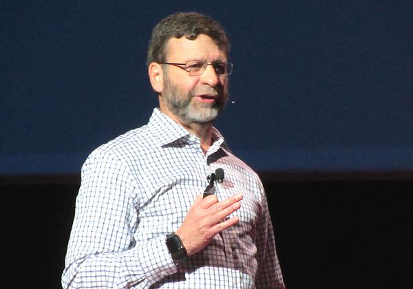 פול קורמייר, נשיא מוצרים וטכנולוגיות ברד-האט. צילום: רן מירון