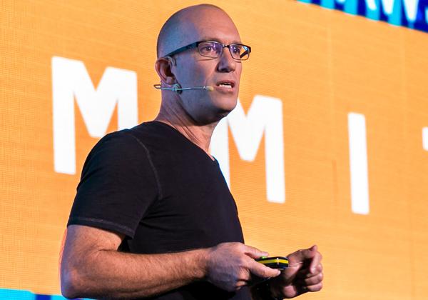 גיל שיינפלד, מנהל הטכנולוגיות הראשי של פייבר. צילום: תומר פולטין