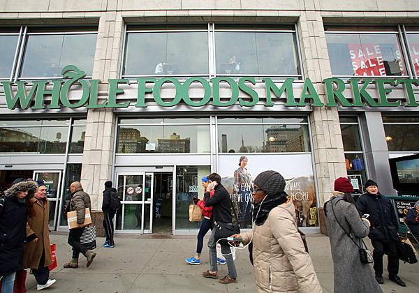 עכשיו היא של אמזון. סניף של הול פודס מרקט בניו-יורק. צילום: NorthfotoBP, BigStock