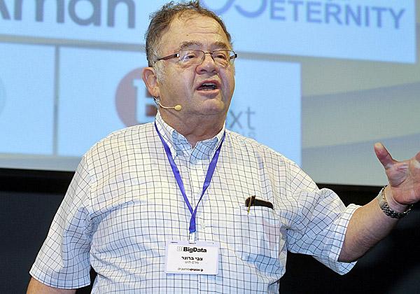 צבי ברונר, מנהל הטכנולוגיות הראשי של מלם תים. צילום: ניב קנטור