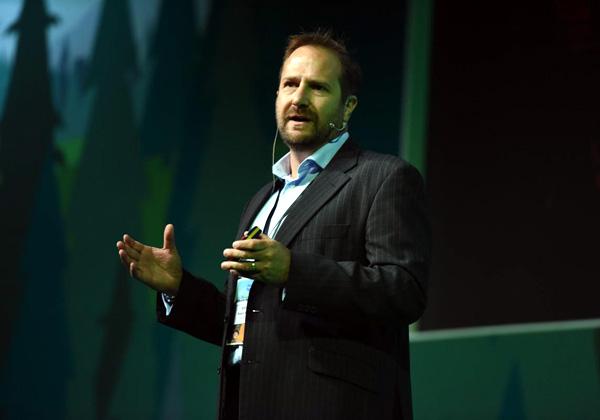 רובין פישר, סגן נשיא ל-EMEA ב-Salesforce. צילום: מורג ביטן
