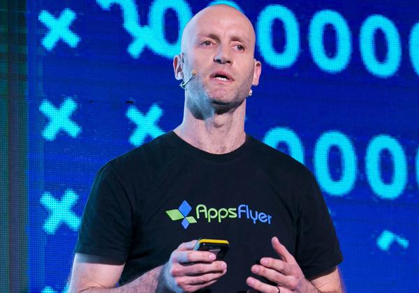 רשף מן, מייסד-שותף וסמנכ״ל טכנולוגיות, AppsFlyer. צילום: תומר פולטין