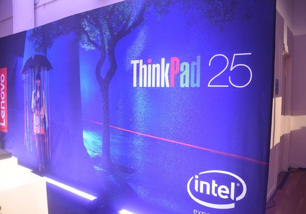 25 שנה למותג ה-PC המפורסם והוותיק ביותר בעולם ThinkPad. צילום: פלי הנמר