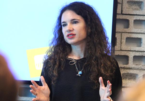 """כוכבית אלמגור, מנהלת מחלקת האיכות בפאלו אלטו נטוורקס. צילום: יח""""צ"""