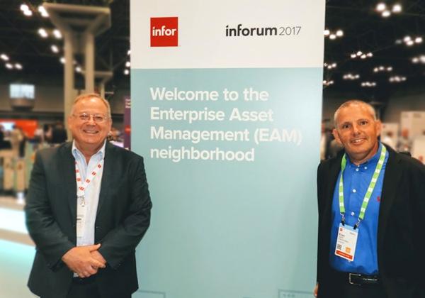 "מימין: ערן גוטמן, סמנכ""ל מערכות מידע שיכון ובינוי ומאיר גבעון, מנכ""ל GIV Solutions. צילום: פלי הנמר"