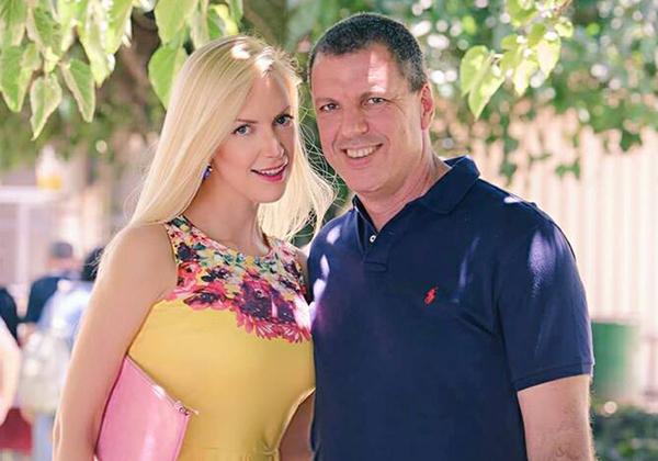 """אל""""מ רמי פייג ואשתו בלה קאפשיב. צילום: יח""""צ"""