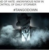 """אנונימוס השתלטה על אתר ניאו-נאצי: """"אי אפשר לסבול יותר את השנאה"""""""