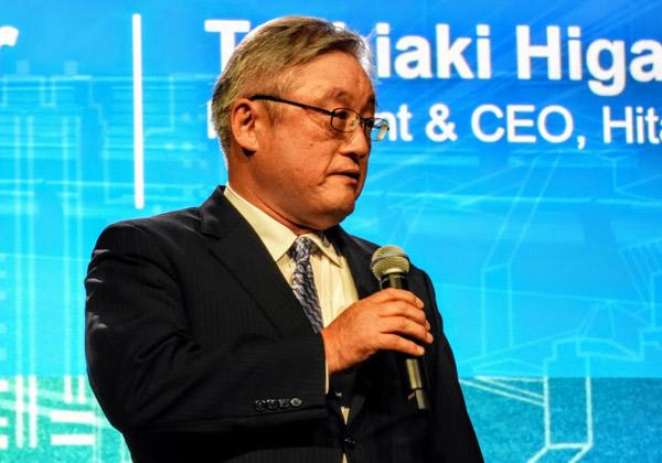 """טושיאקי היגאשיהארה, נשיא ומנכ""""ל היטאצ'י. צילום: פלי הנמר"""