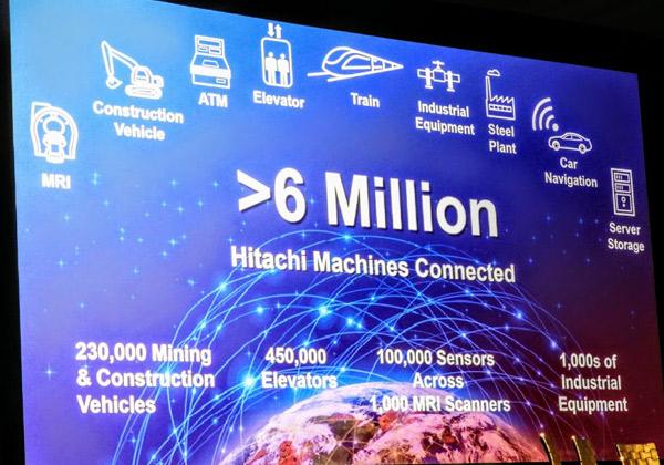 ל-Hitachi Vantara כבר שישה מיליון נקודות IoT מחוברות בעולם. צילום: פלי הנמר