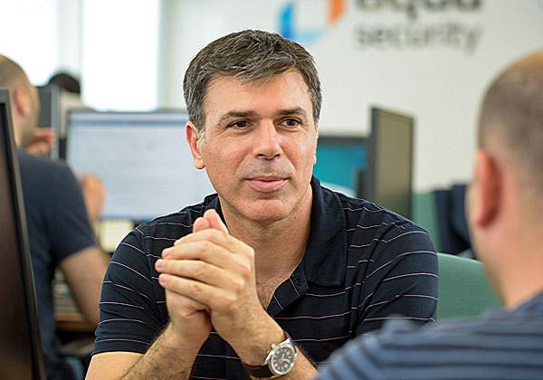 """דרור דוידוף, מנכ""""ל ומייסד משותף של אקווה סקיוריטי. צילום: דיוויד גארב"""